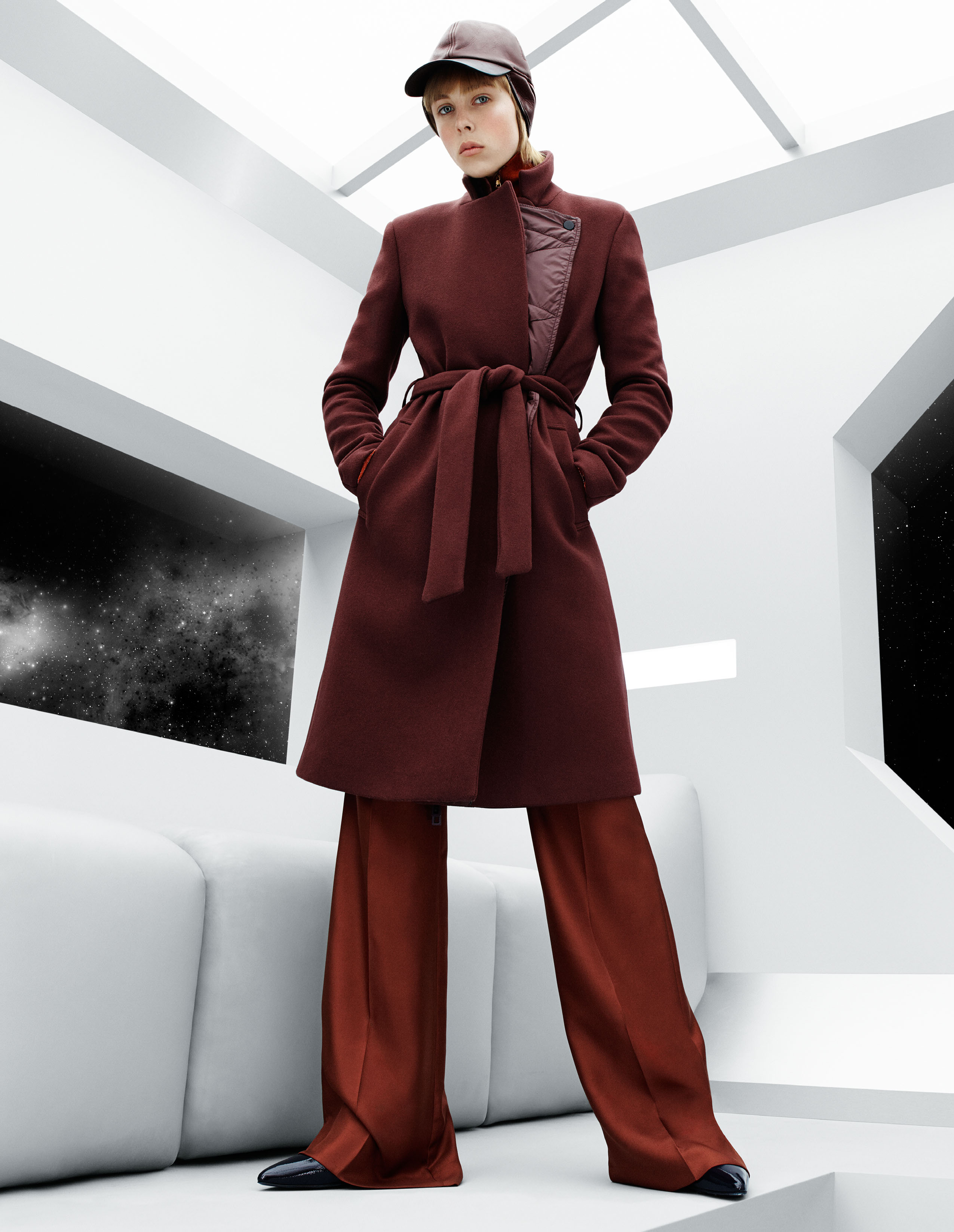 Campbell edie for h&m studio fall campaign advise to wear for autumn in 2019