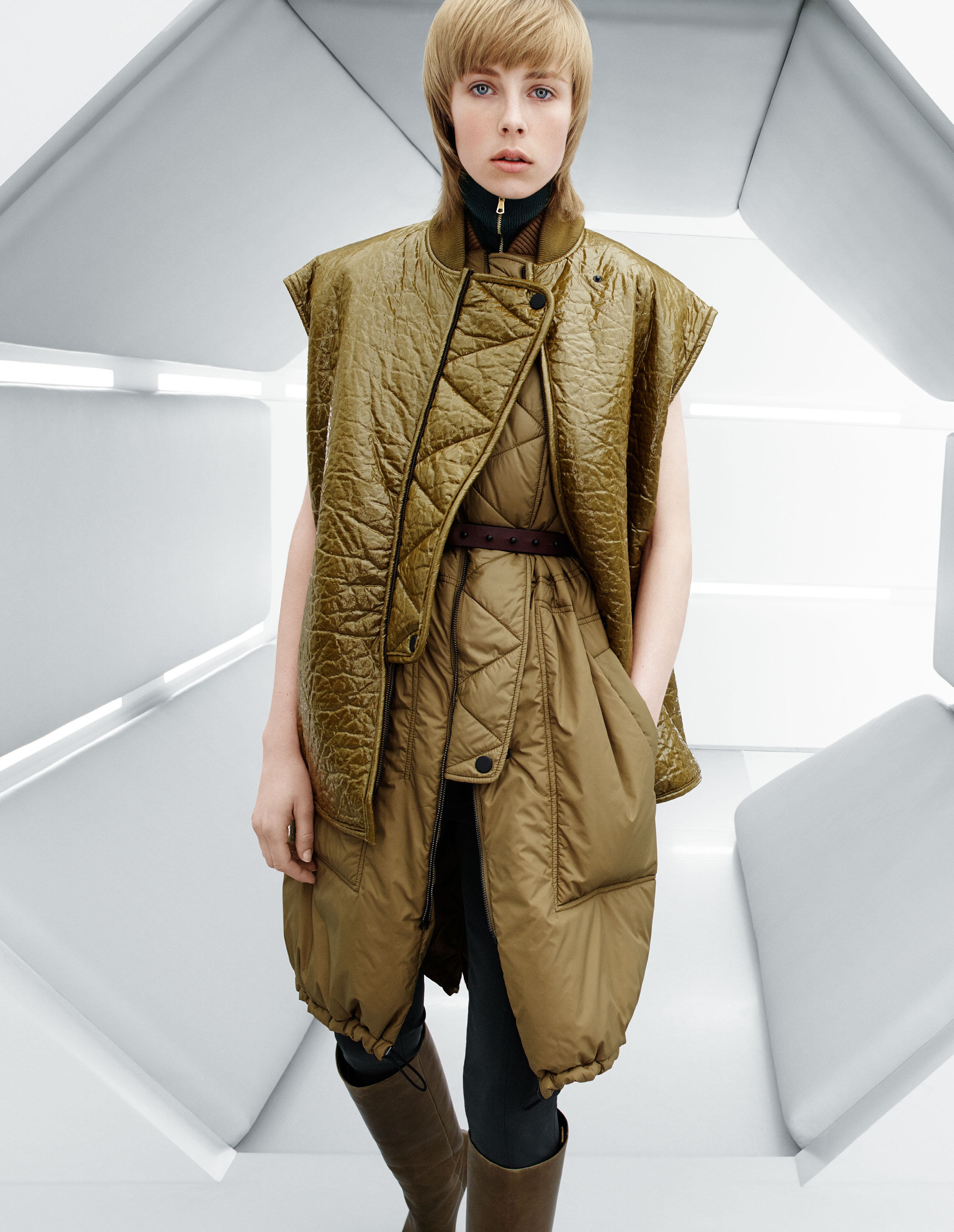 Campbell edie for h&m studio fall campaign catalog photo