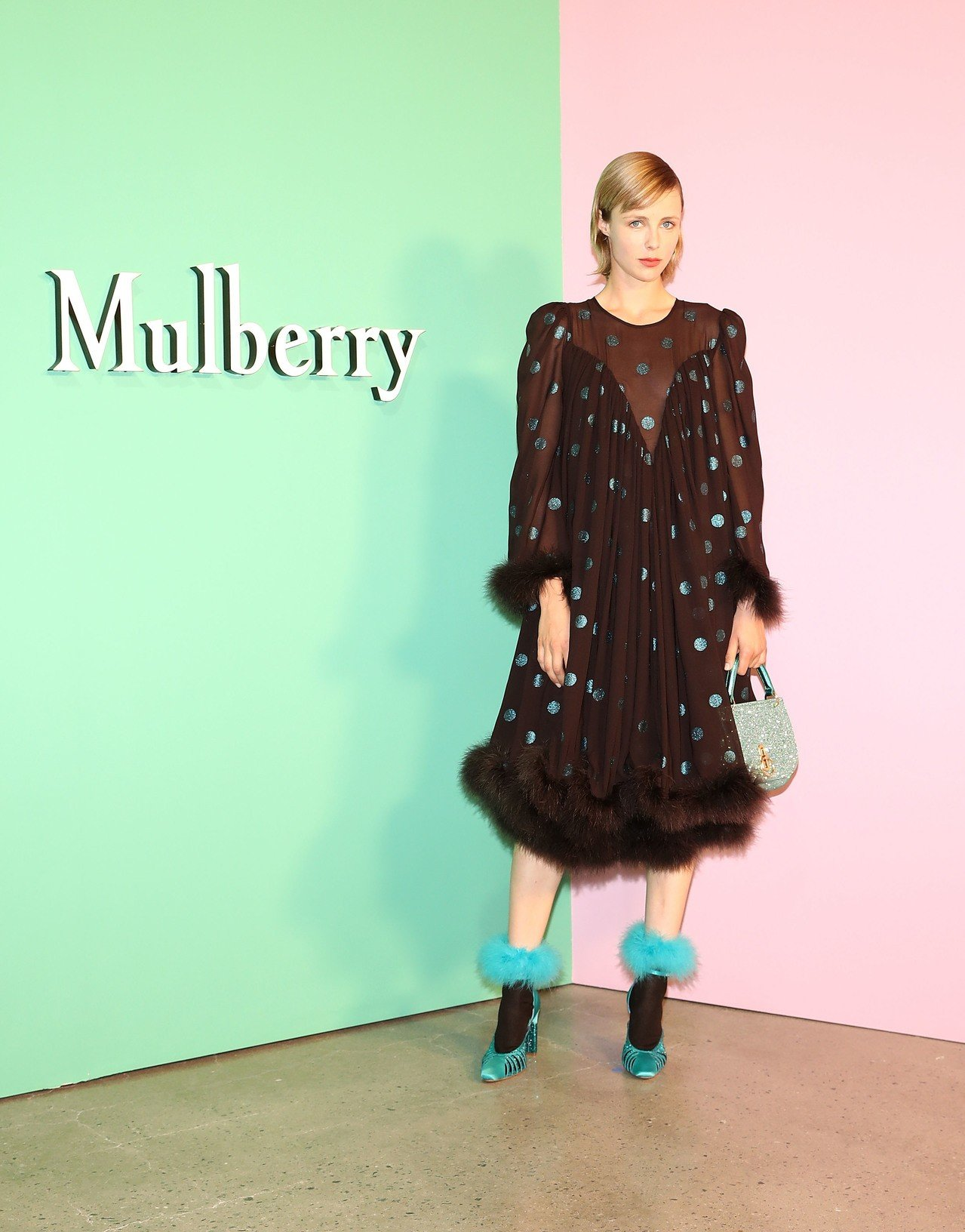 Edie Campbell attends the Mulberry Autumn Winter 2018 event at K Museum in  Seoul. Mulberry Creative Director Johnny Coca ... 038ab10a59179